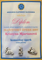Slovenský šperk 2007